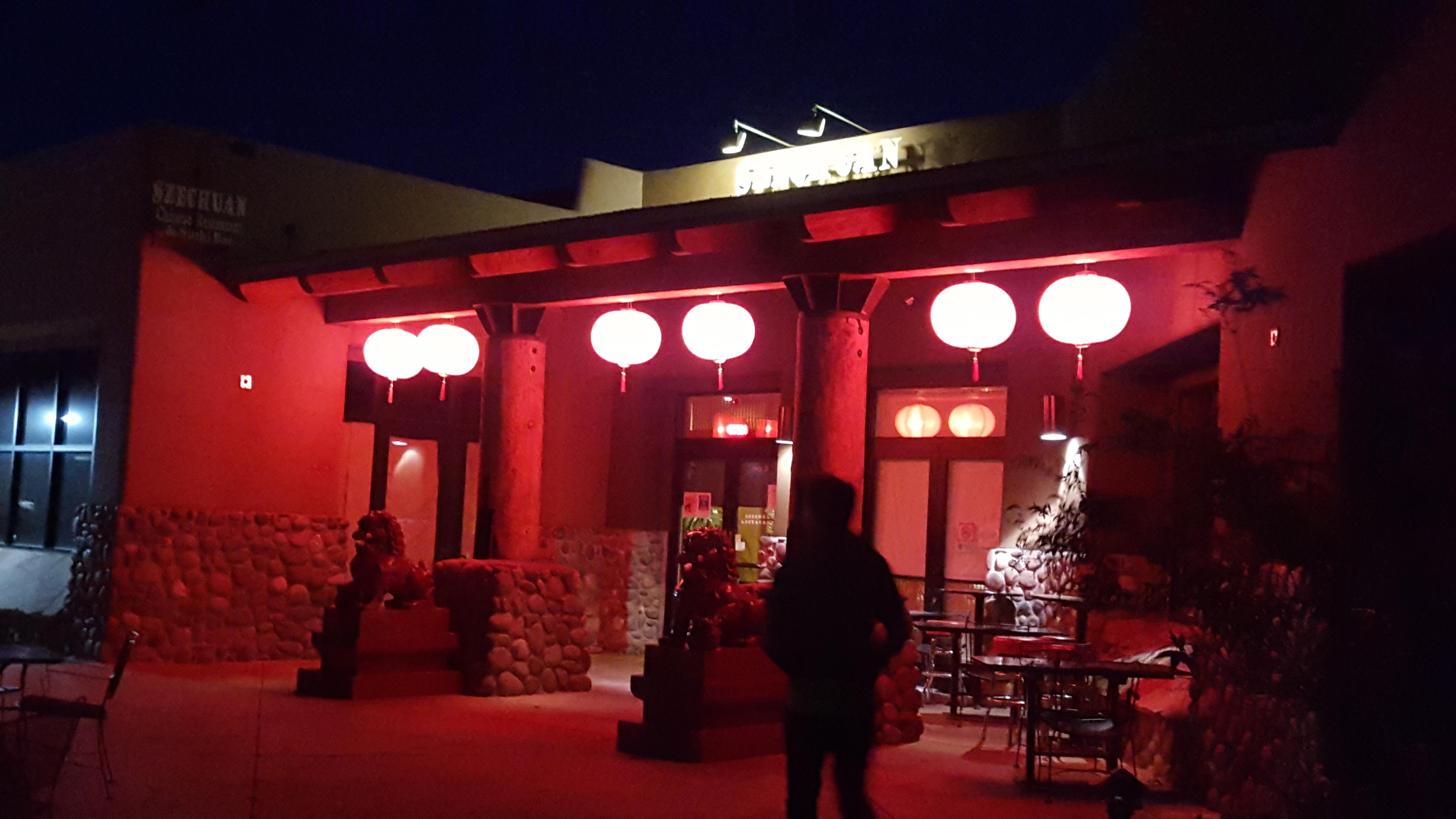 szechuan restaurant in sedona  az asian food review